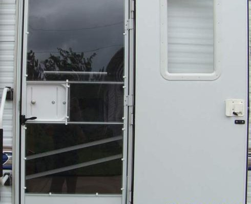RV Door Window Glass Mod: A Door for All Seasons