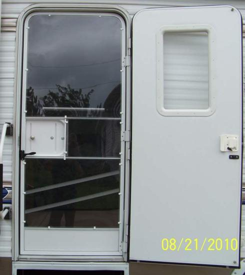 Rv Door Window Glass Mod A Door For All Seasons