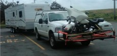 Funny RV Motorcycle: Doesnt the Basket Go on the Front of the Bike?