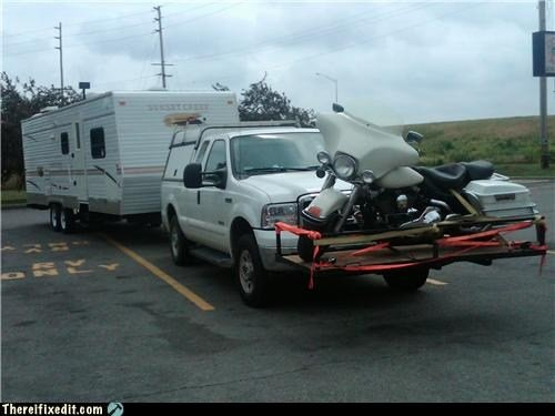 Funny RV Motorcycle