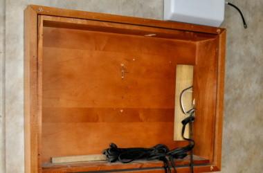 Stock TV frame in the Enduramax