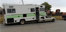 Funny RV: Convert a Motorhome into a Fifth Wheel