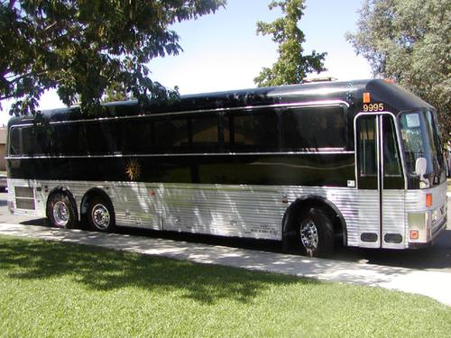 Motorhome Conversion From Greyhound Bus To Luxury Motorcoach