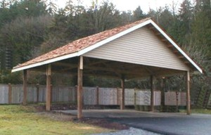 RV Carport and Garage: Options, Customizations, and Costs - Wood Carports Photos
