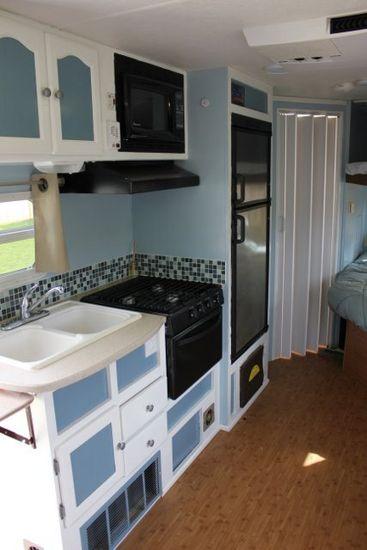 travel trailer renovation  forest river wildcat gets an