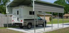 RV Carport And Garage – Options, Customizations, And Costs
