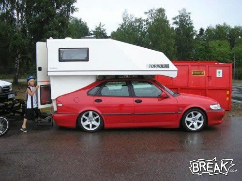 Funny RV: The Best Car Camping Money Can Buy