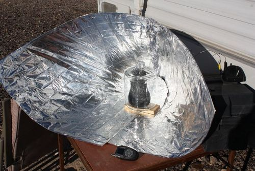 Make a DIY Solar Cooking Setup for Fire/Gas Free Camping