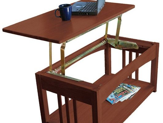 Multipurpose Lift Top RV Coffee Table that is Just Right for a RV
