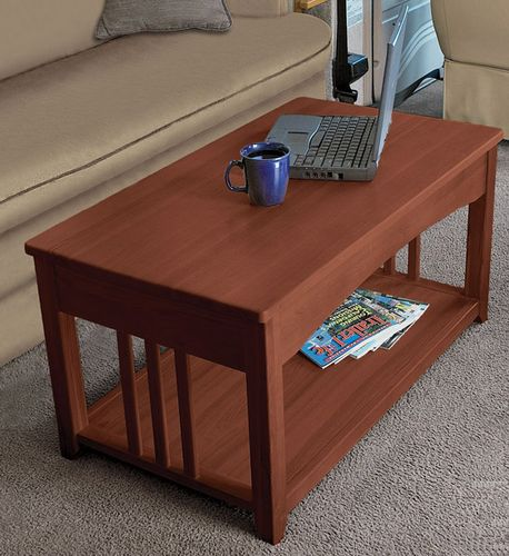 Small Coffee Tables That Lift Up: Multipurpose Lift Top RV Coffee Table That Is Just Right