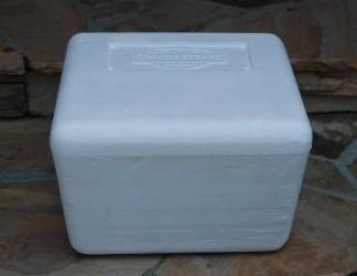 DIY RV Ottoman: Custom Made from a Styrofoam Storage Cooler
