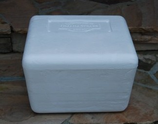 DIY RV Ottoman: Custom Made from a Styrofoam Storage Cooler