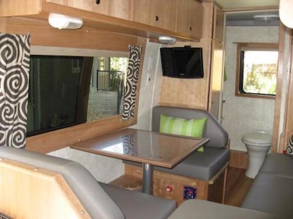 Completed small RV remodel