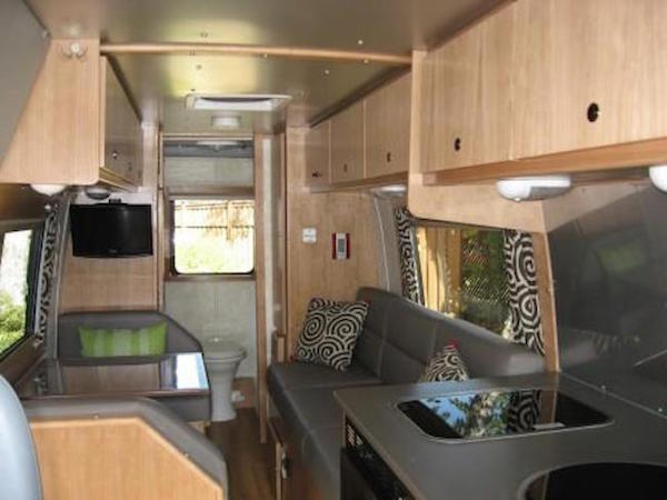 Motorhome living area renovation