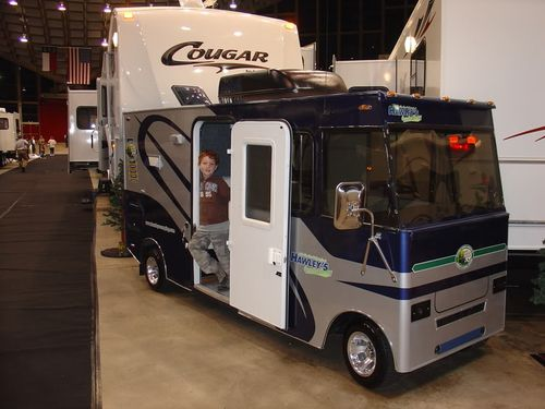 Funny RV: Mini Motorhome, RV Golf Cart, or Both?