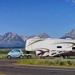 ... Funny RV: Smart Car Towing a Fifth Wheel Funny RV: Real Horse Power