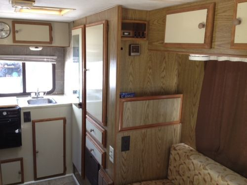 1985 Toyota Coachman Rv Remodeled Meet The Dover Guppy