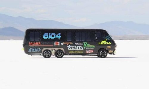 Custom GMC Motorhome Attempts Land Speed Record