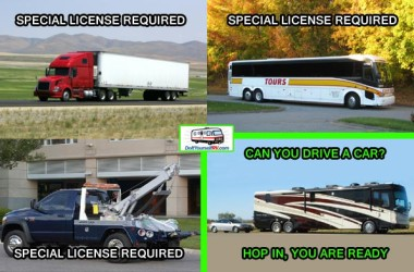 Funny RV: Any Driver's License Will Do