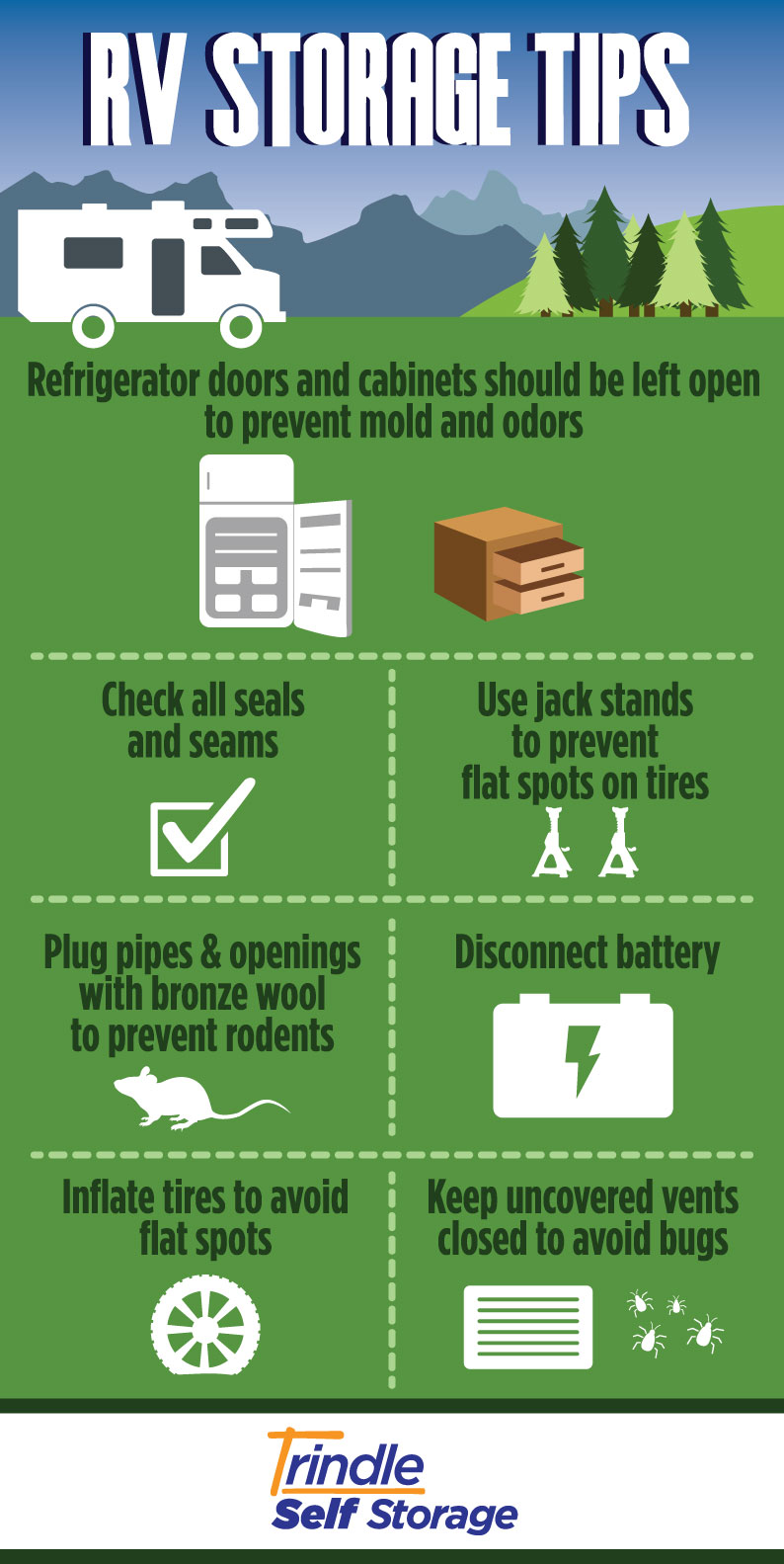 Infographic by Trindle Self Storage