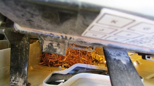 RV Mod for Keeping Rodents out of an Engine Compartment