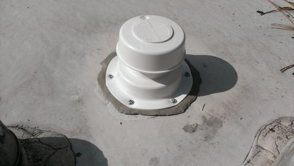 Replacing a weathered rv sewer vent cap for How to replace rv bathroom vent cover