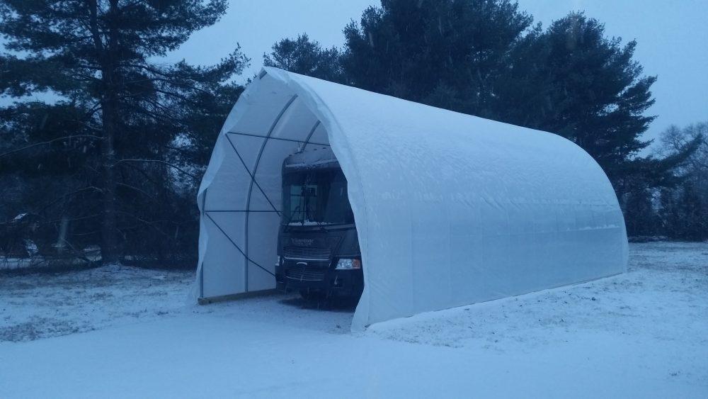 winter RV storage