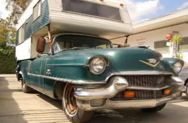 Funny RV: A Cadillac RV, Who Knew?