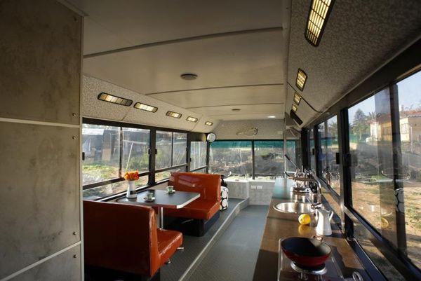 Swanky Custom Bus RV