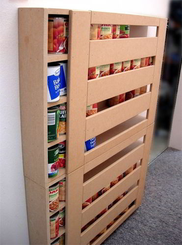 Diy Rv Food Storage Can Dispenser Keep The Rv Pantry