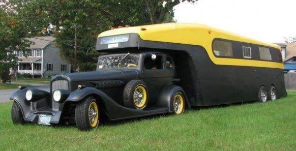 Fifth wheel roadster