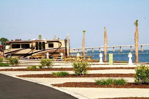 St. Rosa Sound luxury RV Parking