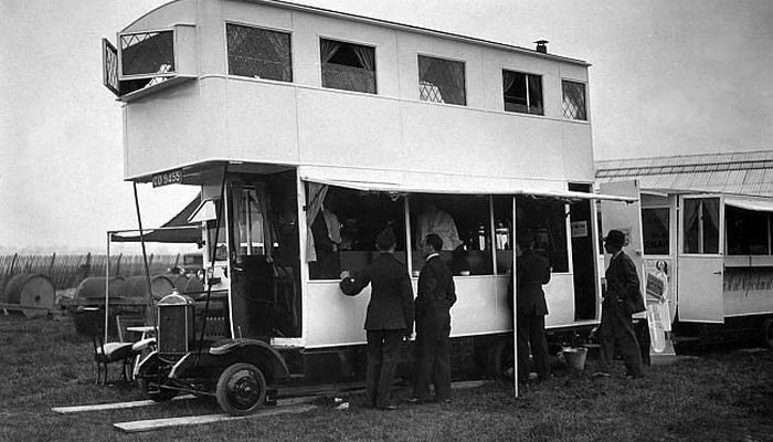 Strange Old Motorhome From A Time When Custom Was The Only Option