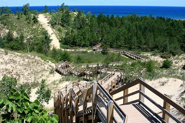 West Beach at Indiana Dunes National Lakeshore. Photo by Jeff Manuszak.
