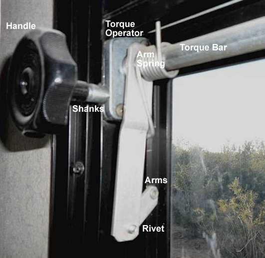 Hand Crank To Open Rv Window Repair How To Find Parts And