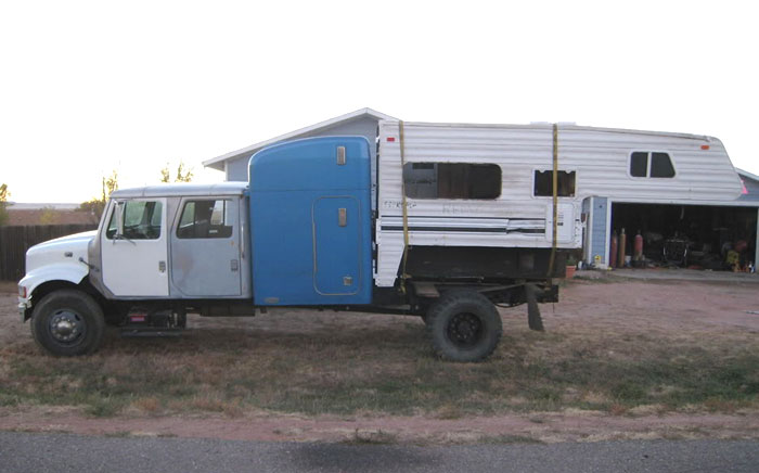 If You Build It They Will Camp Redneck Vehicle Rv For