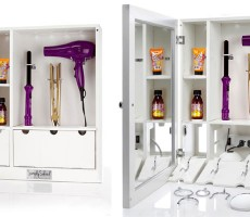 An RV Bathroom Organizer that Makes it Less of a Hassle to Share