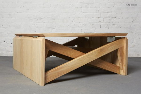 Ingenious Transforming Table Coffee Or Dining It Can Handle It All
