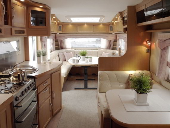 Simple Two Story RV A Travel Trailer With 2 Floors And Walk Out Balcony