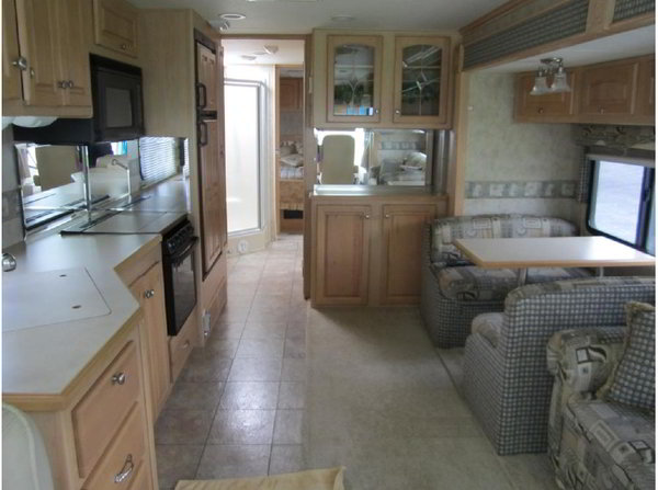 A Beach Rv Interior For The Beach Bum In All Of Us