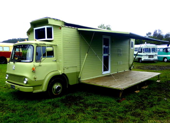 Eye Catching Custom Built Vintage Caboose Rv With A Fold