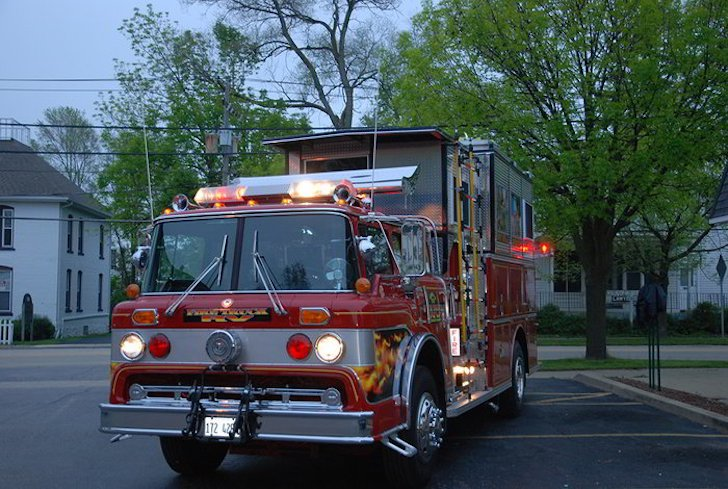 Tribute To 9 11 Fire Truck Rv Roadworthy Memorial