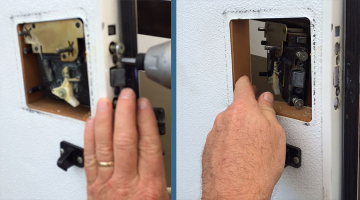 Existing Lock Removal Pt.2
