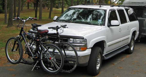 Choosing The Best Rv Bike Rack Hitch Ladder Tongue Or Bumper