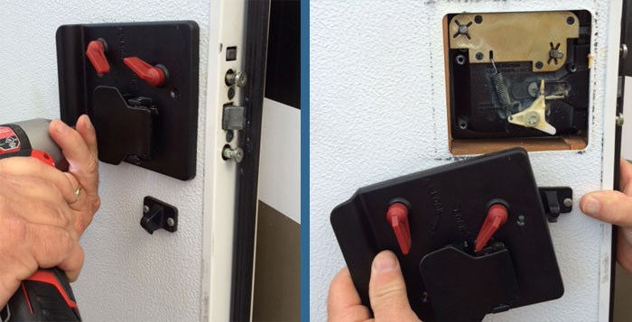 Existing Lock Removal Pt.1