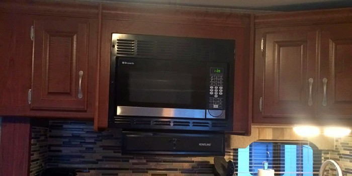 How To Swap Out A Rv Microwave With A Convection Oven