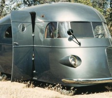 1937 Hunt House Car with First Working RV Shower