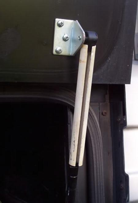 Holding Basement Door Open 1