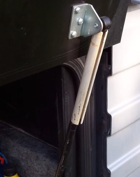 Holding Basement Door Open 2