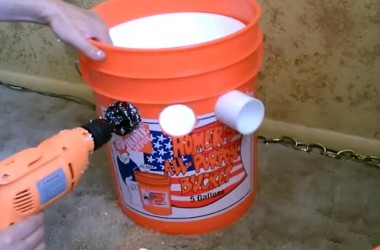 DIY Air Conditioner From A 5-Gallon Bucket For Under $25